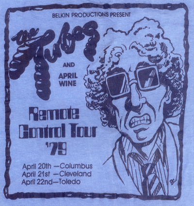 The Tubes 'Remote Control' Tour Ad
